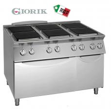 Electric Cooker 6 Burner Range