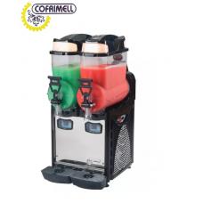 Slush machine  OASIS2 2 black Cofrimell