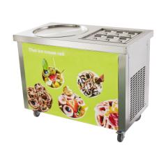 Fried ice Cream Machine + 6 tanks