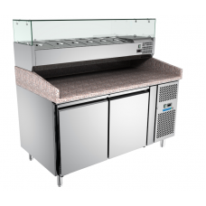 Counter Pizza & Preparation Chiller With Container +VRX380
