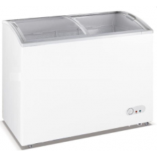 Chest Freezer Curved Glass