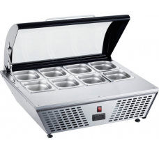 Counter Top Freezer with 8X1/6 Pan