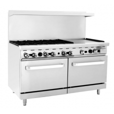 Gas Cooker  with Oven and Griddle - BAY-6B24G