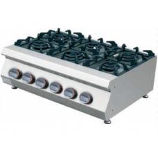 Gas Cooker 6 Burner