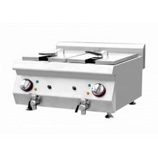 Electric Fryer Double Bowl