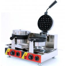 Electric Double  Round Waffle Maker  FAPP-656