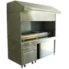 BBQ Hood with Manual 150