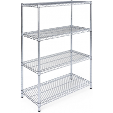 Chrome Shelving 1200x530x1800