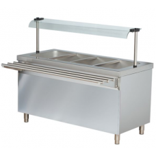 Cold Bain Marie Salad Bar 3/GN
