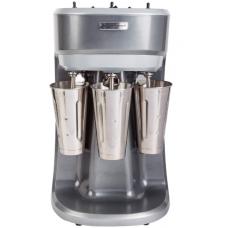Milk Shaker Triple Spindle 1/3 hp Stainless Steel Agitator