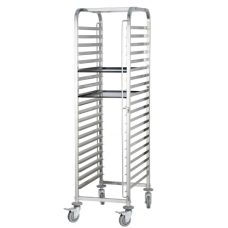 Stainless Steel Cake Trolley 60x40 cm