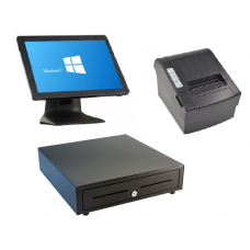 Cashier POS 1518P + Cash Drawer  EK410 + Printer TP200