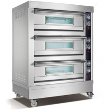 Electric Oven 3 Deck 6 Trays