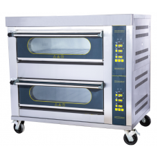 Electric Lamb Oven 2 Deck 4 Trays