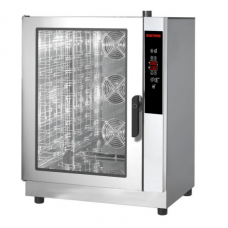 Gas Convection Oven  with Steam 12 trays 12 GN1/1 Programmable
