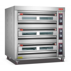 Electric Oven 3 Deck 9 Trays