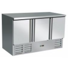 Counter Chiller 3 door S903 SS TOP