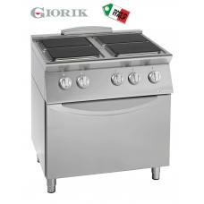 Electric Cooking Range 4 Burner + Oven